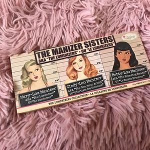 The balm luminizer trio- blush bronzer,highlighter